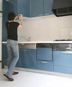 キッチン水漏れのケース 水道パッキン交換 水道工事 水漏れ
